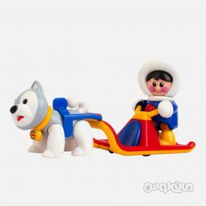 ست سورتمه با آدمک و سگ سری فرست فرندز تولو نوزادی