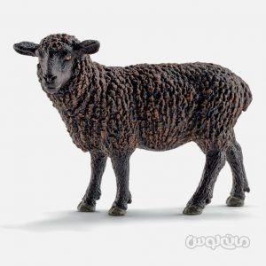 فیگور گوسفند سیاه سری دنیای مزرعه اشلایش