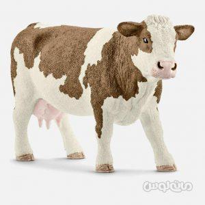 فیگور گاو ماده سیمینتال سری دنیای مزرعه اشلایش