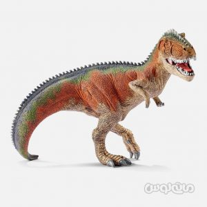 فیگور گیگانوتوساروس نارنجی سری دایناسورها اشلایش
