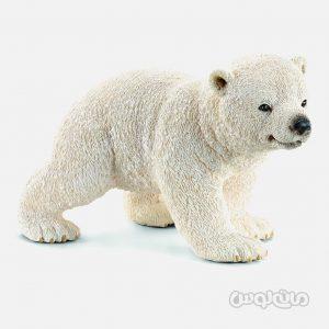فیگور توله خرس قطبی سری حیات وحش یخ و اقیانوس اشلایش