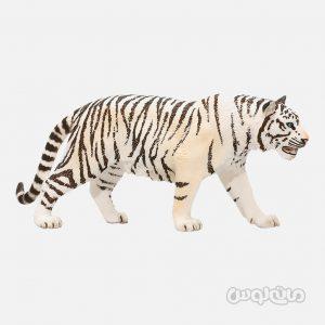 فیگور ببر سفید سری حیات وحش جنگل اشلایش