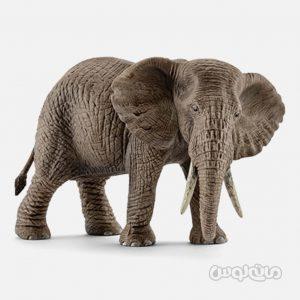 فیگور فیل ماده آفریقایی سری حیات وحش سافاری اشلایش