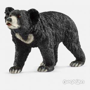 فیگور خرس سیاه اسلوت سری حیات وحش جنگل اشلایش