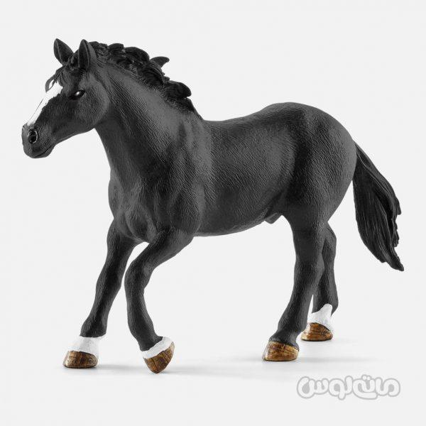 فیگور گاو چرون همراه با اسب سری دنیای مزرعه اشلایش