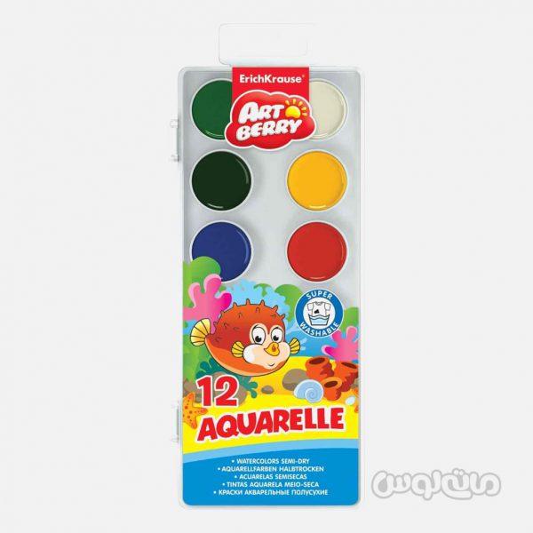 آبرنگ 12 رنگ پلاستیکی آرت بری