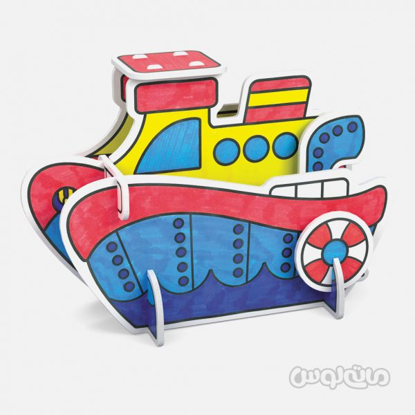 پلی ست سه بعدی کشتی آرت بری
