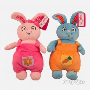 عروسک پلاش خرگوش موزیکال دختر و پسر رانیک
