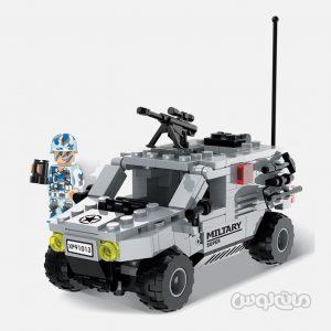 ماشین ارتش 181 قطعه ساختنی سیپو