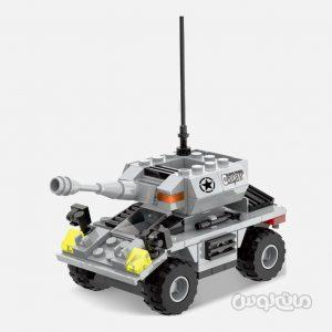 ماشین ارتشی اسکات 192 قطعه ساختنی سیپو