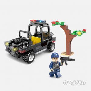 پلیس مخفی 138 قطعه ساختنی سیپو