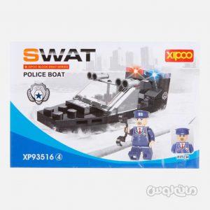 قایق پلیس 61 قطعه ساختنی سیپو