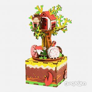 خانه درختی سری موزیک باکس روبوتایم ساختنی