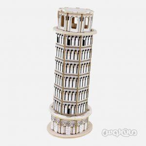برج پیزا سری تری دی پازل روبوتایم ساختنی