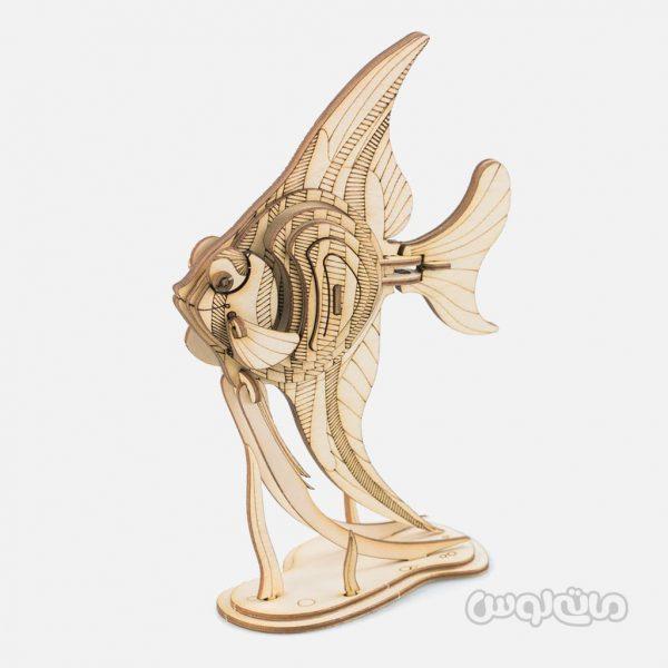 ماهی آنجل سری رو لایف روبوتایم ساختنی