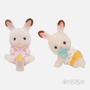 فیگور بچه خرگوش های دو قلو سیلوانیان فمیلی ایپوک