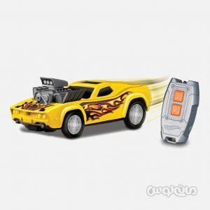 ماشین کنترلی استریت ریسر زرد سری هات ویلز نیکو