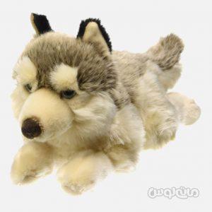 عروسک گرگ خوابیده 40 سانتی سری سگ ها للی