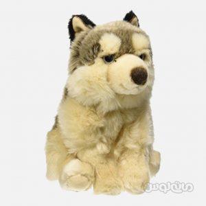 عروسک گرگ نشسته 26 سانتی سری سگ ها للی
