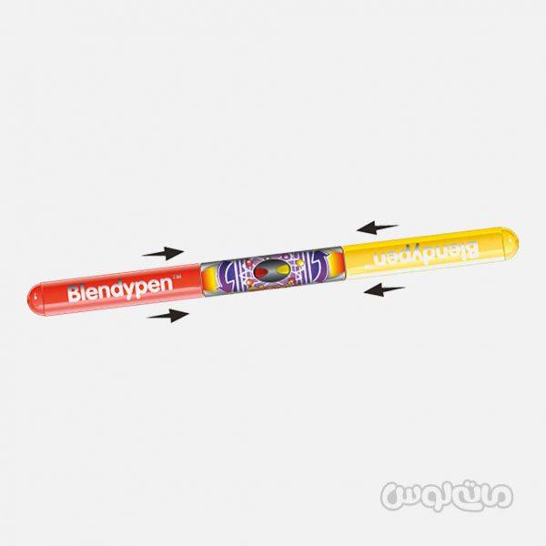 قلم 2 تایی با 4 تناژ رنگی سری بلندی پن رن آرت