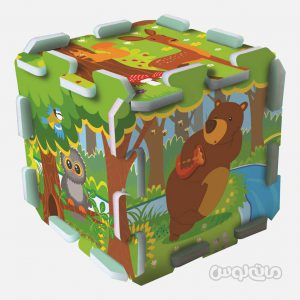 پازل فومی 8 عددی جنگل ترفل