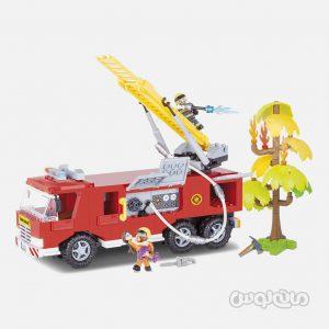 کامیون مگا آتشنشانی سری اکشن تون کوبی ساختنی