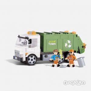 ماشین حمل زباله سری اکشن تون کوبی ساختنی