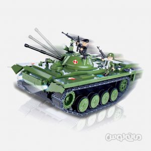 تانک PT-76 سری الکترونیک کوبی ساختنی