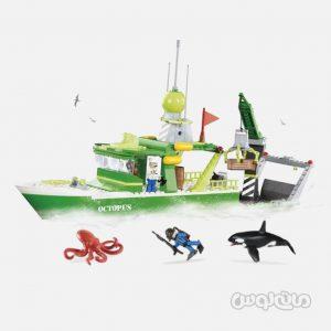 قایق علمی سری وایلد استوری کوبی ساختنی