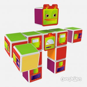 ساختنی ربات سری مجیک کوب ژئومگ