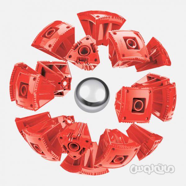 ساختنی 55 قطعه قرمز سری کر ژئومگ