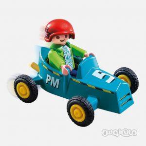 پسر و ماشین مسابقه سری اسپشیال پلی موبیل