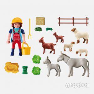 مزرعه حیوانات سری کانتری پلی موبیل