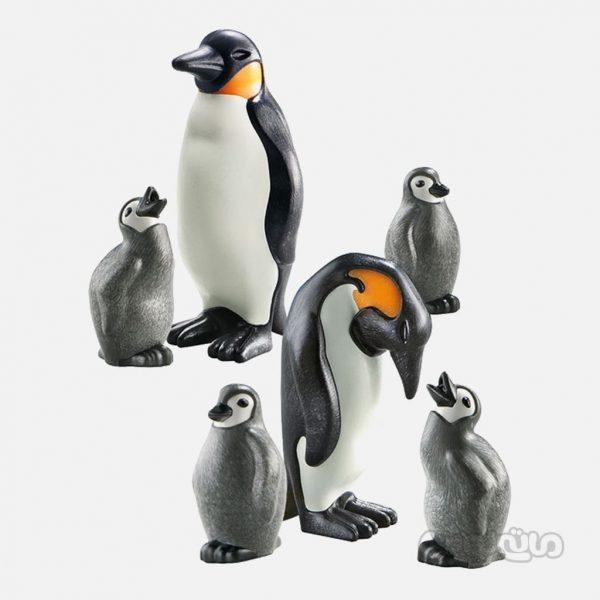 خانواده پنگوئن ها سری سیتی لایف پلی موبیل