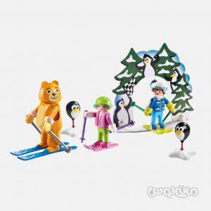 اسکی با حیوانات سری فمیلی فان پلی موبیل
