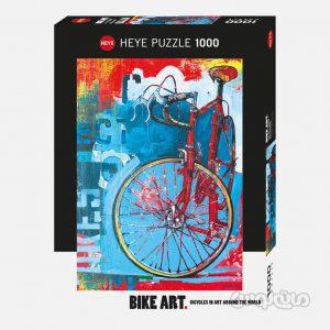 پازل دوچرخه 1000 قطعه هیه