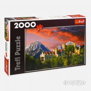 پازل 2000 قطعه قله ای در باواریا ترفل