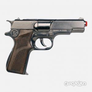 تفنگ ترقه ای پلیس طلایی نقره ای 8 تیر گان هر