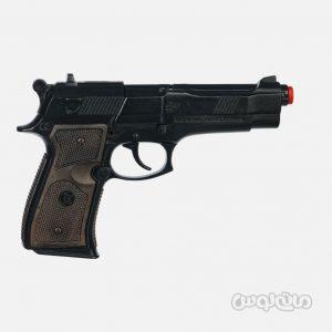 تفنگ ترقه ای پلیس مشکی 8 تیر گان هر