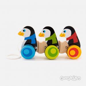 ترن پنگوئن سری زاباوکا درونیانا ترفل چوبی
