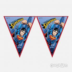 ریسه پرچمی سوپر من بسته تک عددی بالن اوی