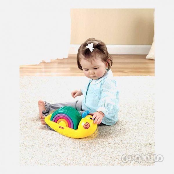 رنگین کمان حلزون فیشر پرایس نوزادی