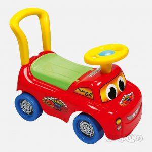 ماشین سوار شدنی قرمز اتوسایمون