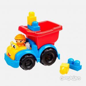 کامیون همراه با 6 قطعه بلاک سری فرست بیلدر مگا بلاکس ساختنی