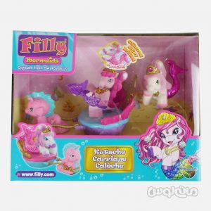 عروسک اسب همراه با کالسکه سری فیلی دراکو
