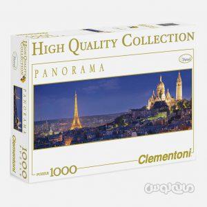 پازل 1000 قطعه پاناروما پاریس کلمنتونی