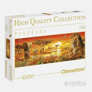 پازل 1000 قطعه پاناروما آفریقا کلمنتونی
