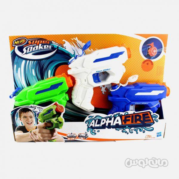 تفنگ آلفا فایر 3 عددی سری نرف سوپر شوکر هزبرو