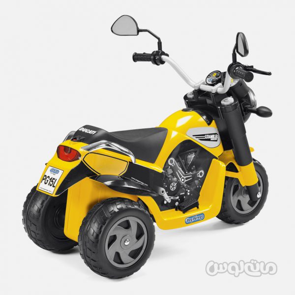 موتور دوکاتی اسکرمبل پگ پرگو