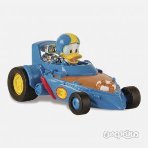 فیگور دانلد داک و ماشین مسابقه سری دیزنی جونیور آی ام سی